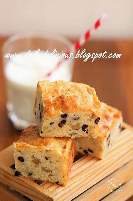 dailydelicious: Банан Белый шоколад Blondie: My Sweet и вкусно Blonie