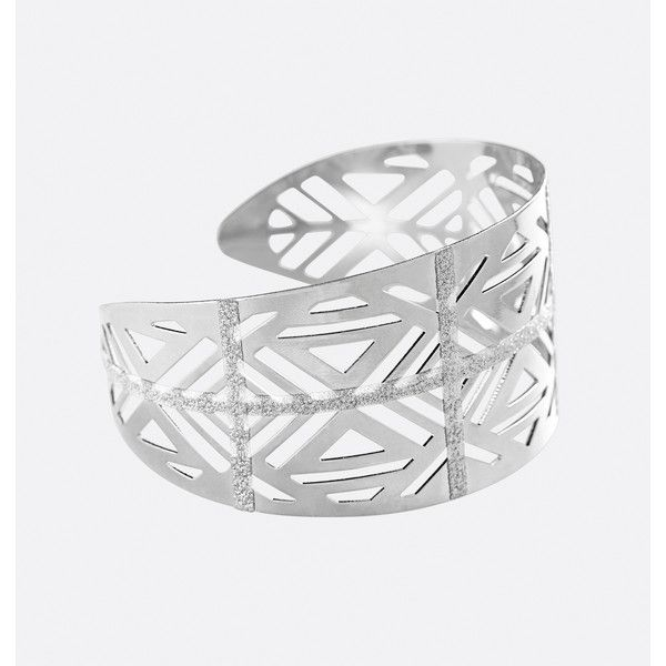 Avenue Glitter Striped Aztec Cuff Bracelet ($9.99) ❤ liked on Polyvore featuring jewelry, bracelets, plus size, silver, cut out cuff bracelet, artificial jewellery, aztec jewelry, imitation jewelry and cuff bracelet
