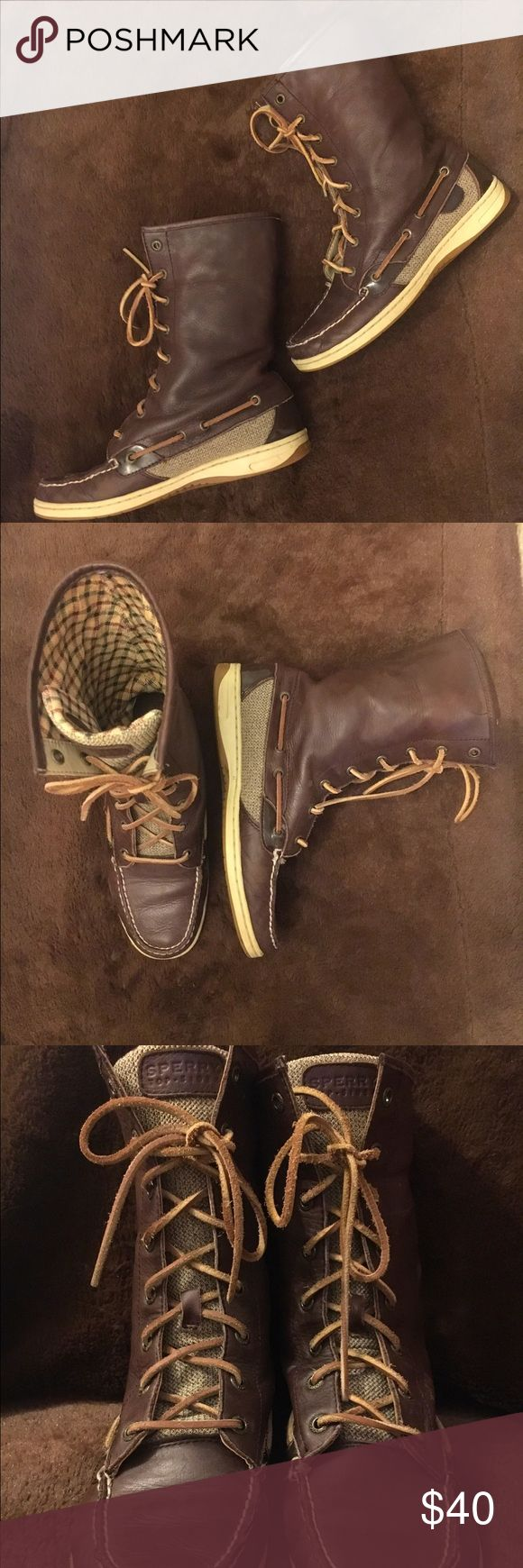 Sperry Top-sider Leather Boots