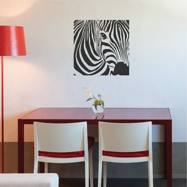 Best Wallboss Wall Decals Images On Pinterest Wall Stickers - Zebra print wall decals
