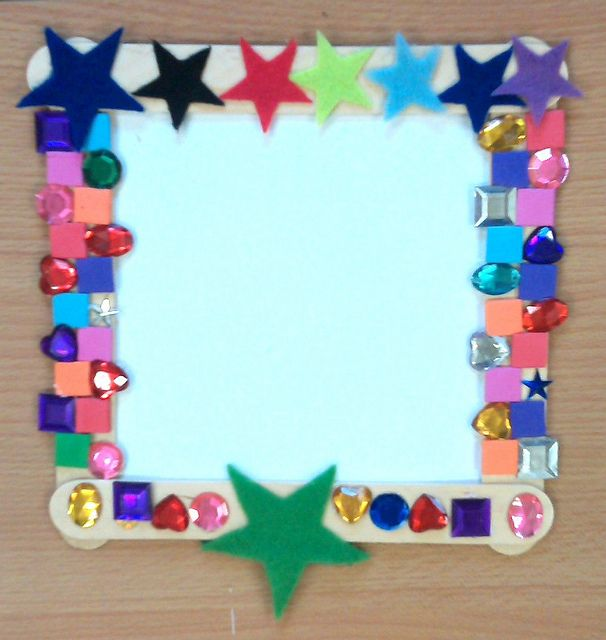 Lots of stars mosaic pictures mosaics and craft for Arts and crafts style prints