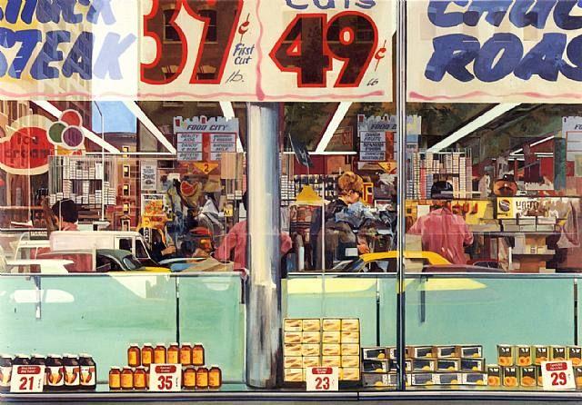 Richard Estes : Paintings