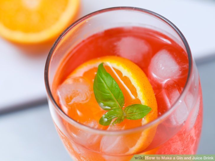 Make a Gin and Juice Drink