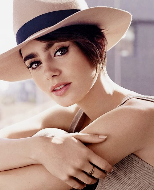Lily Collins for Lancome 'Energie de Vie'