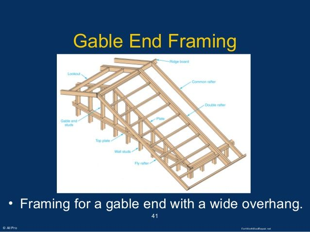 Image Result For Lookouts Gable Overhang Detail Shed