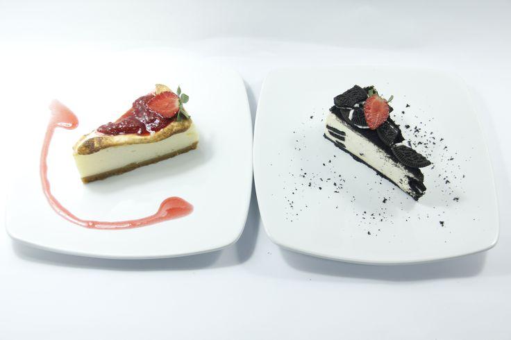 strawberry cheese and oreo cheesecake..yummy!!