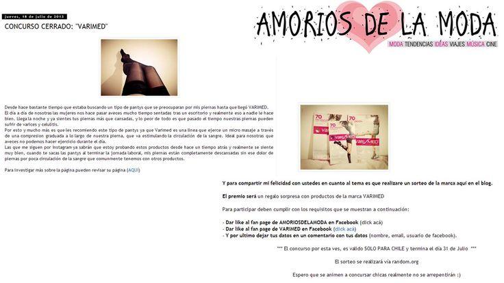Amoríos de la Moda. 3  http://amoriosdelamoda.blogspot.com