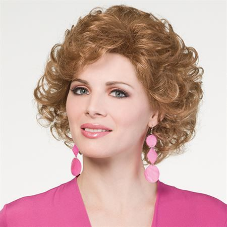 Dynamic Wig- What's hot now. . . a feminine longer length softly curled with all over layering. Always a flattering look.