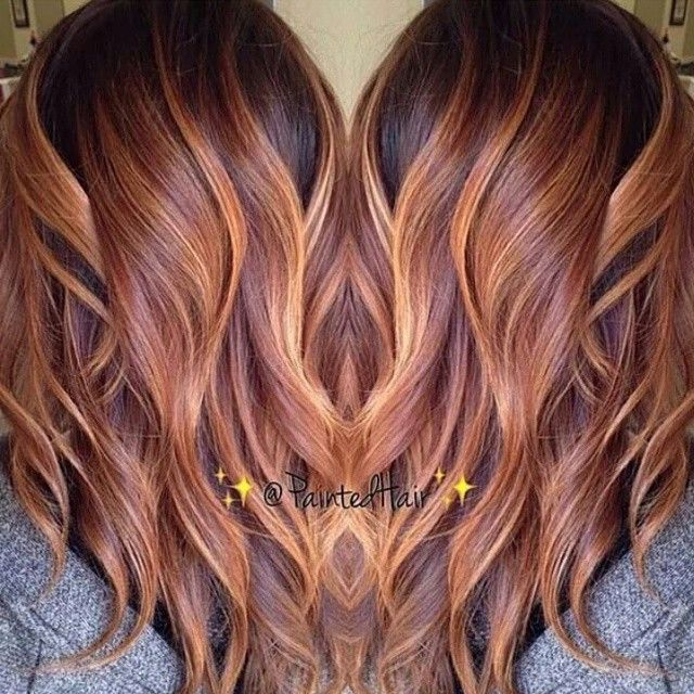 * Honey Carmel blend by @paintedhair