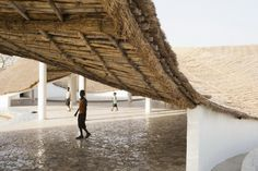Тошико Мори. Культурный центр Thread. 2015. Courtesy AFLK and Thatcher Cook Сенегал