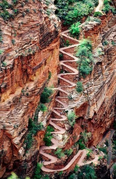 Now there's a hiking trail!  (in Utah)