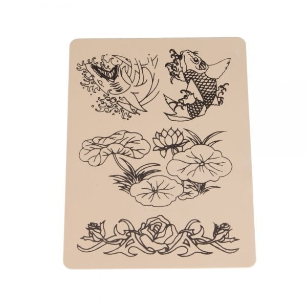 amazones gadgets W, Lotus and Fish Outlines Tattoo Practice Skin Tattoo Gadgets: Bid: 8,12€ Buynow Price 8,12€ Remaining 21 hrs 37 mins…