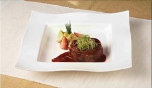 Receta de Filete en salsa de cebollas, por Linda Brockmann.