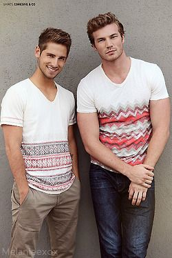 Jean-Luc Bilodeau & Derek Theler Omgosh I love baby daddy! They are soooo hot!!