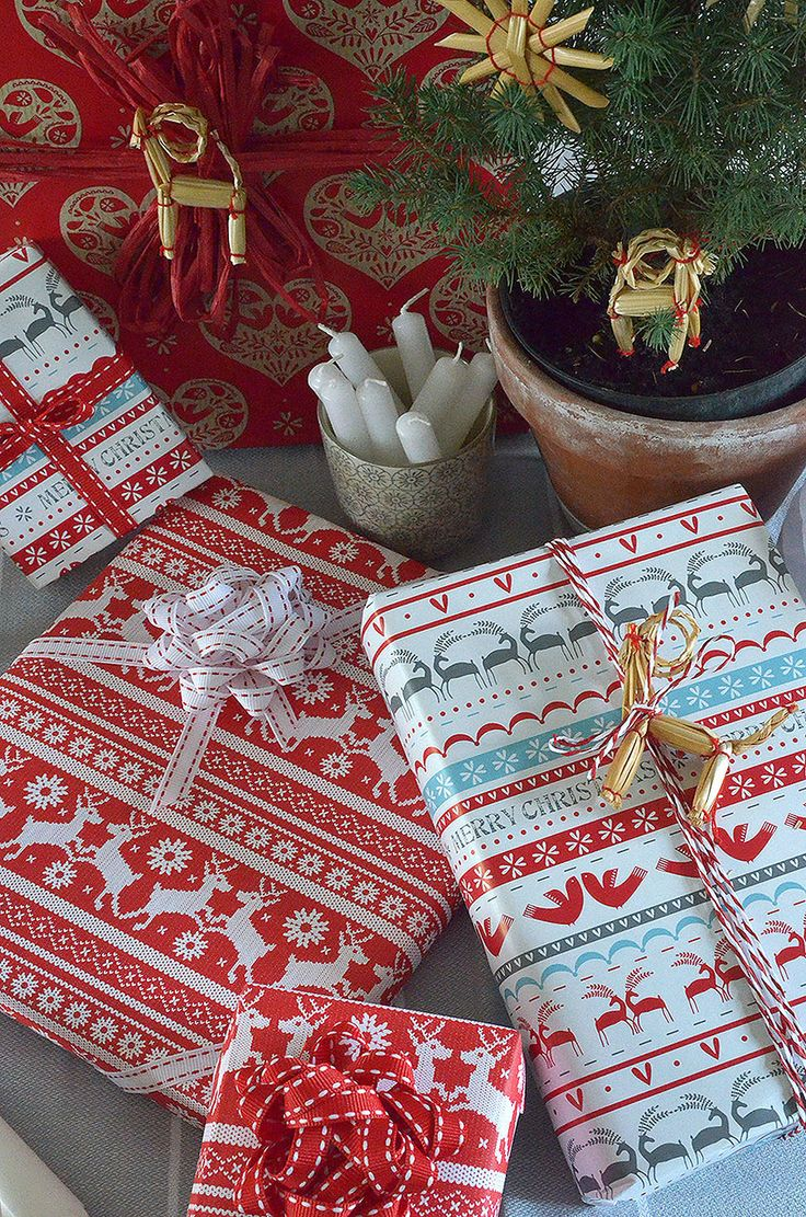 Christmas Gift Wrapping Ideas - Scandi Folk