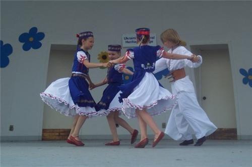 Ukrainian Dancers Vegreville