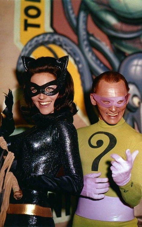 Lee Meriwether & Frank Gorshin As Catwoman & The Riddler Tumblr