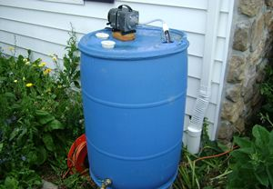 Compost Tea Brewer - I had a free 55 gallon barrel that I decided to turn into a compost tea brewer. Compost tea is a great way to magnify your compost by breeding the beneficial microorganisms and spraying them on your p