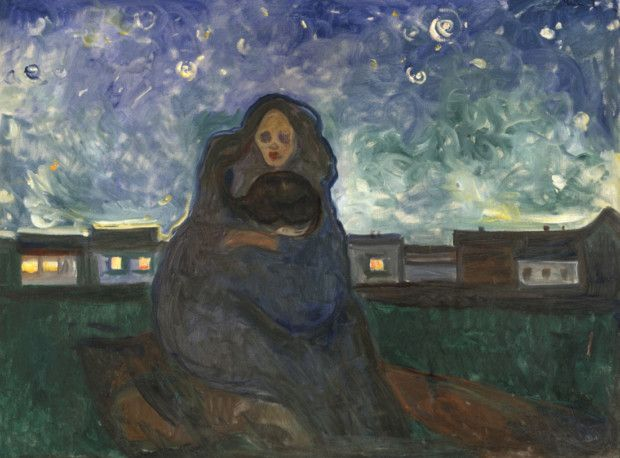Edvard Munch, Under the Stars, 1900-1905, Museo Thyssen-Bornemisza, Madrid