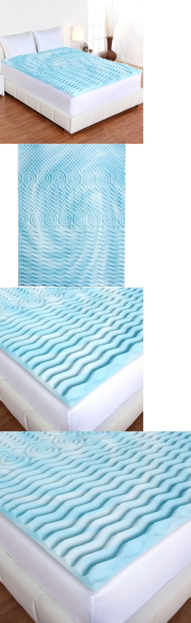 mattress pads and feather beds cooling gel foam 2 queen mattress bed topper 5