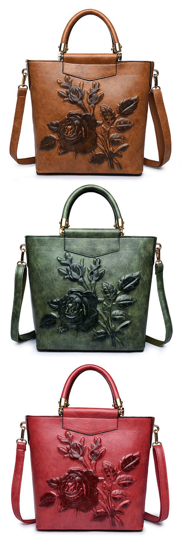 US$46.32  Elegant National Style Flower Pattern Shoulder Bags Crossbody Bags For Women #ShoulderBags #WomenCrossbodyBags #WomensHandBags