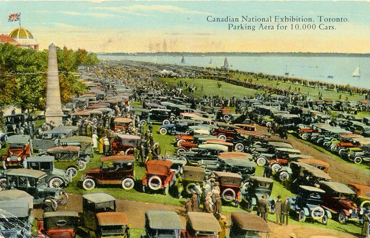 Wayback Wednesday | Toronto waterfront at the CNE,1927. Notice anything different?