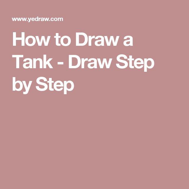 How to Draw a Tank - Draw Step by Step