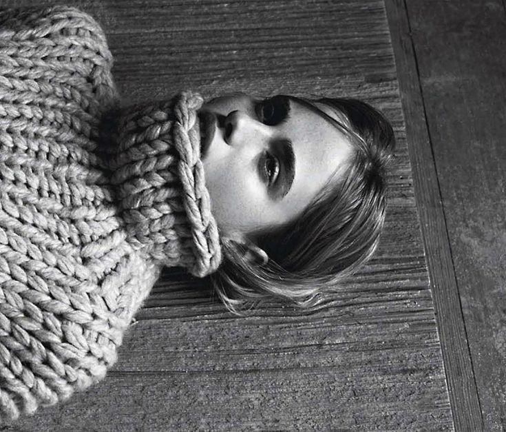 chunky knit #style #fashion