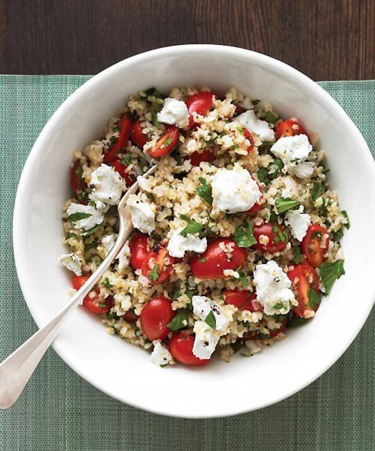 Quick Bulgur Wheat for Lunch:  10 Recipes to Break the Sandwich Rut