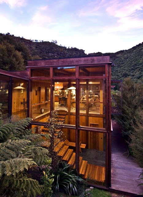 Waterfall Bay House - Marlborough Sounds - New Zealand - Pete Bossley  architects