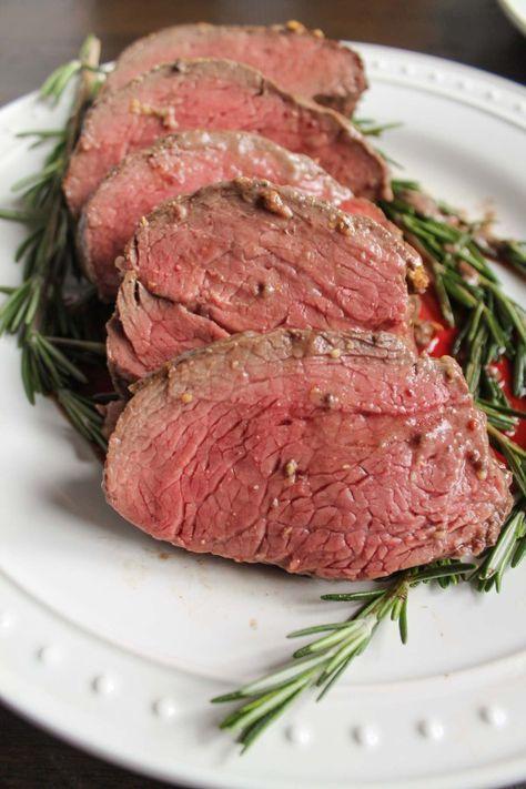 beef-tenderloin-with-a-red-wine-mushroom-sauce