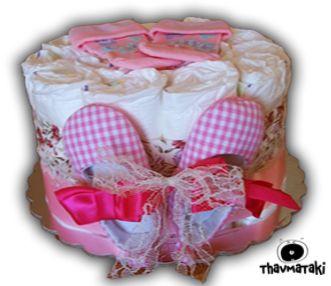Μικρό και γλυκύτατο thavmataki, με τα πρώτα του παπουτσάκια, και ένα ζευγάρι όμορφα καλτσάκια για να ταιριάξουν. Και βέβαια, αρκετές πάνες εσωτερικά!  Τιμή 20€