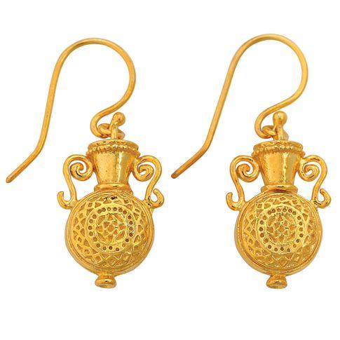 Early Byzantine Amphora Earrings - The Met Store
