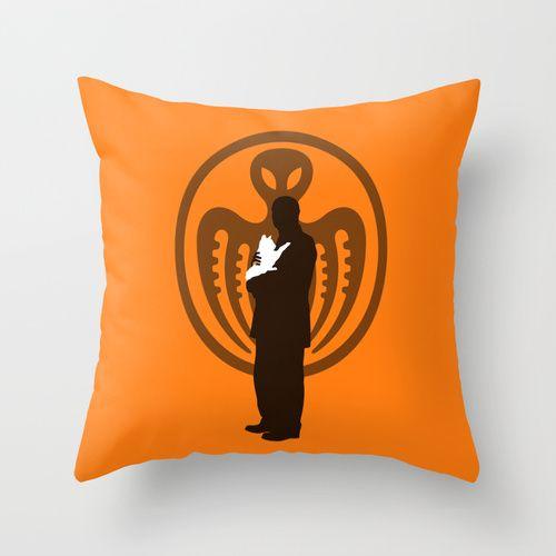ERNST STAVRO BLOFELD Throw Pillow @ http://society6.com/vectorvectoria/ernst-stavro-blofeld_pillow#25=193&18=126