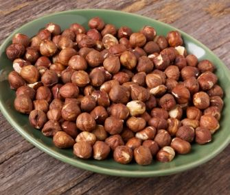 Honey-and-Spice-Roasted Hazelnuts | James Beard Foundation