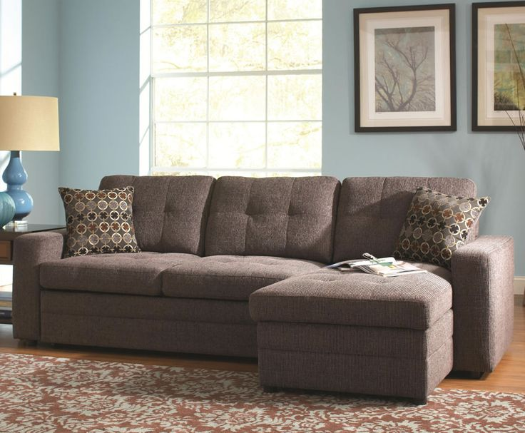 Living Room Filled Contemporary Small Sectional Sofa With Tufted Back Idea  Plus Pretty Large Carpet Awesome