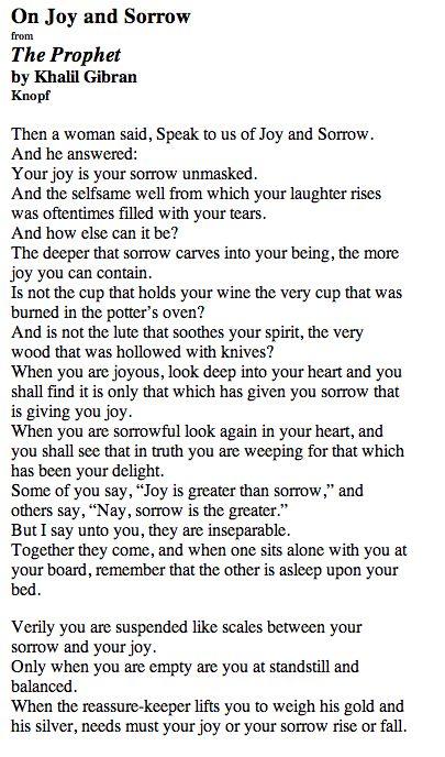 Appreciating Joy