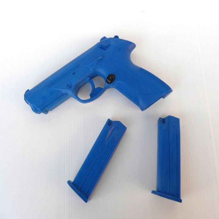 GHOST PX4 Training Gun blu con 2 caricatori - Accessori vari - Equipment
