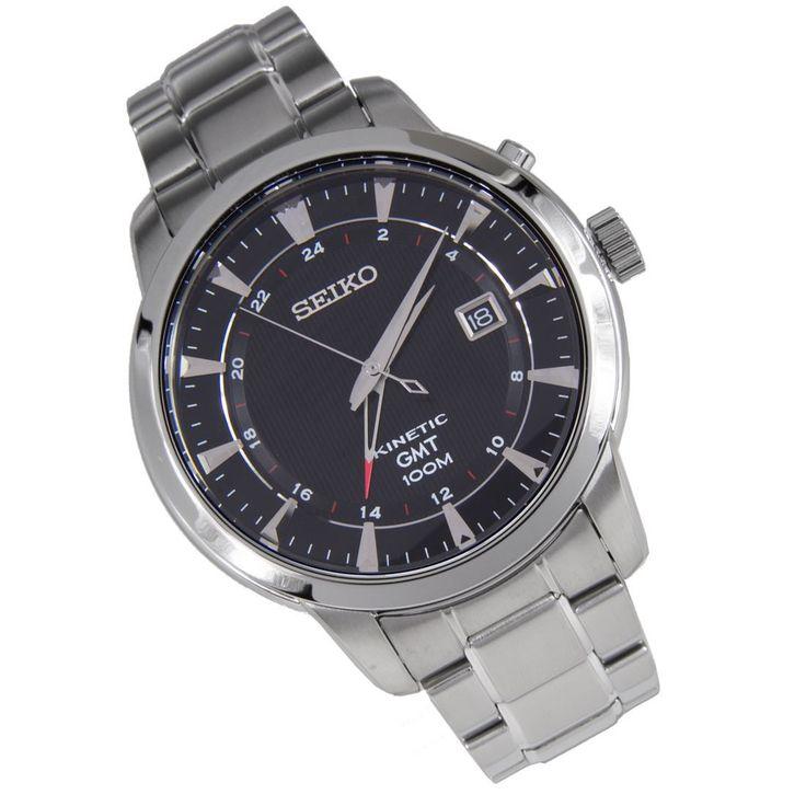 A-Watches.com - Seiko Kinetic GMT Analog Mens Watch SUN033P1 SUN033, $158.00 (http://www.a-watches.com/seiko-kinetic-sun033p1)