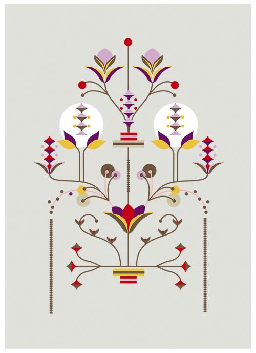 Love the work of Carolina Melis. Her Flower Series is pared back and super stylised.Carolina worked as a choreographer before starting a career in design. She graduated at Central St Martins in London where she specialised in animation direction and illustration, and has won countless awards. Beautiful stuff.