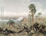 Victoria Falls of the Zambezi River  by Thomas Baines