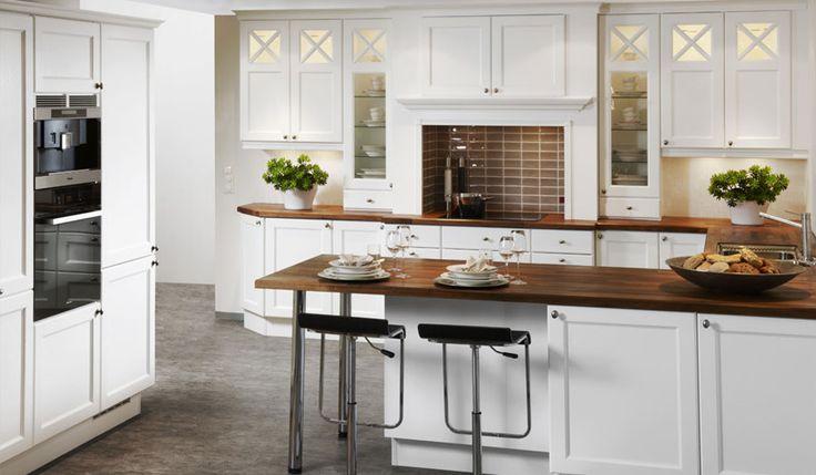 Bilderesultat for hvite kjøkken