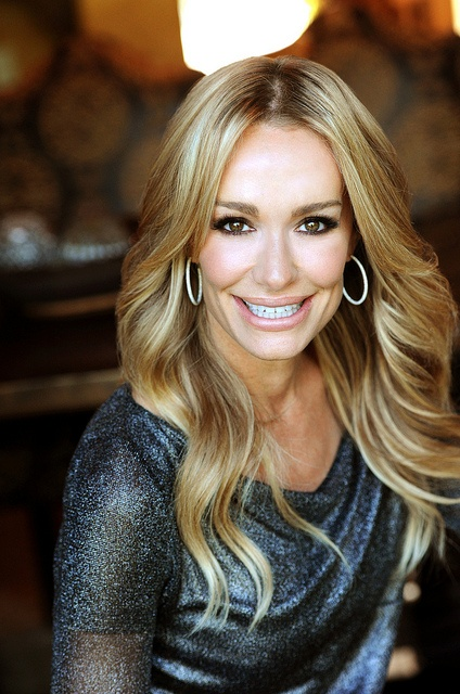 "Taylor Armstrong ""The Real Housewives of Beverly Hills""  Love her hair!"