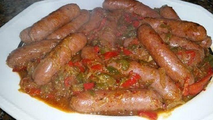 طريقة عمل نقانق حارة بدبس الرمان Food Sausage Meat