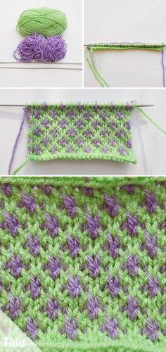 Knit Crisscross – Instructions for knitted crosses