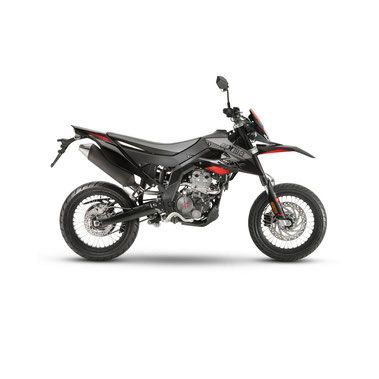 2018 Aprilia SX 125 -- The Italian bike maker has announced a new lineup of small dual sport bikes with a street supermotad configuration. Available in 50 and 125cc  engine capacities, across five models, the RX/SX 125s share the same frame, Euro 4 compliant engine, and suspension, along with a category first ABS braking system with anti-roll-over. The RX/SX small 50cc models feature a single-cylinder Euro 4 two-stroke engine, liquid-cooled with lamellar intake.