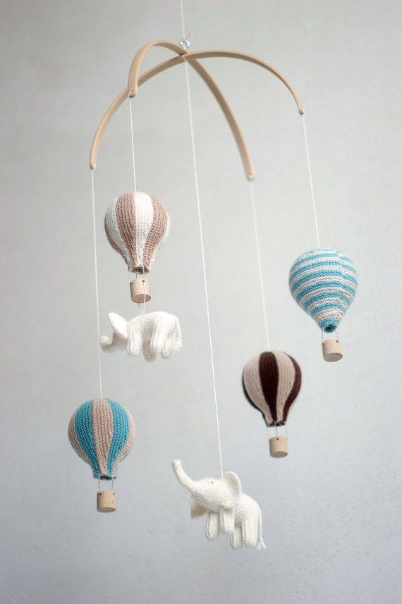 SALE  15 %  baby mobile  hot air balloon mobile  by Patricija
