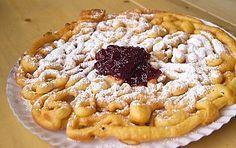 Strauben (frittelle dolci dell'Alto Adige)