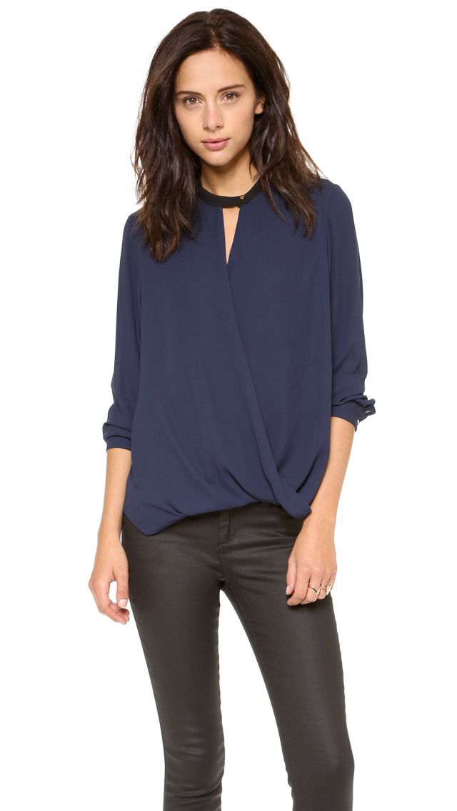 I discovered this ONE by And B Long Sleeve Blouse | SHOPBOP on Keep. View it now.