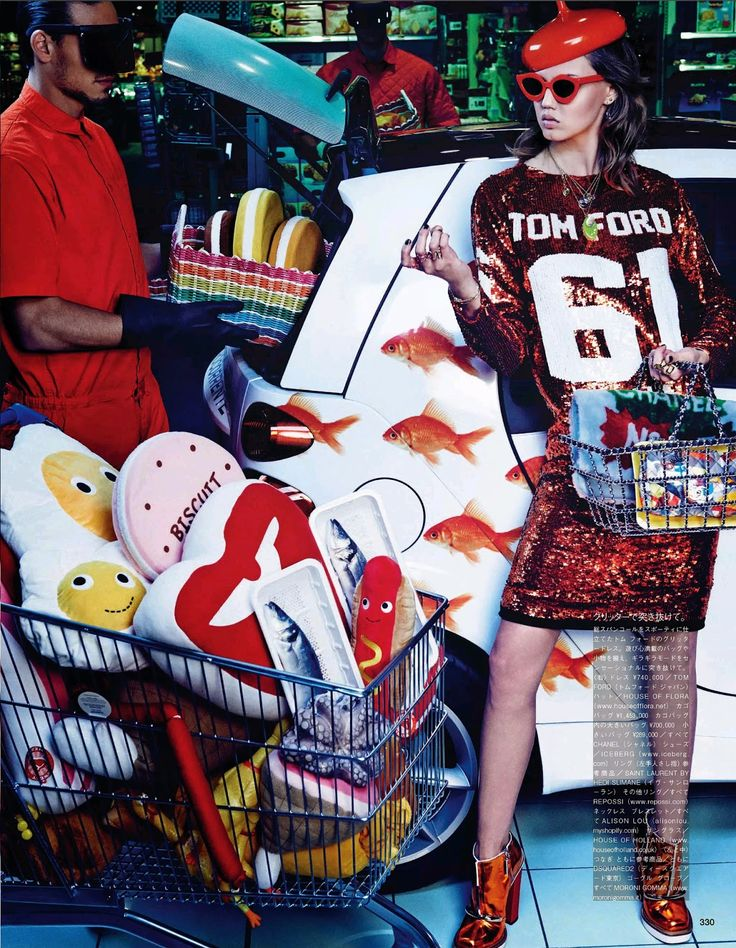 visual optimism; fashion editorials, shows, campaigns & more!: my market day: lindsey wixson and hanne gaby odiele by giampaolo sgura for vogue japan october 2014